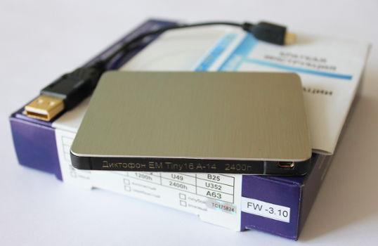 Схема диктофона Edic-mini Tiny 16 A14.