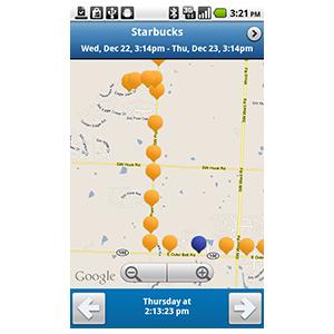 GPS-трекер Garmin GTU 10 путь