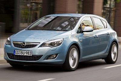 5 место Opel Astra (порядка 76 000 машин)