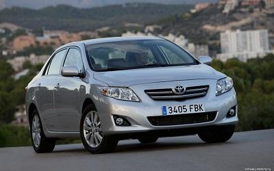9 место Toyota Corolla (порядка 56 000 машин)