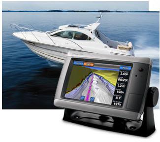 Купить морской GPS-навигатор - картплоттер Garmin (Гармин)