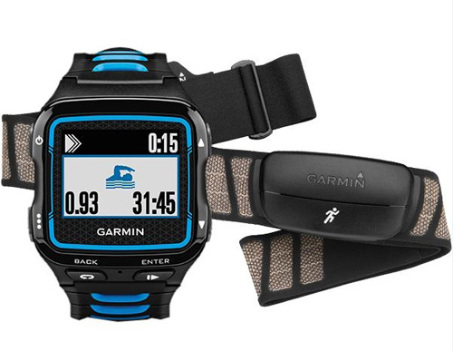 Спортивные часы Garmin Forerunner 920XT HRM-Run Black/Blue
