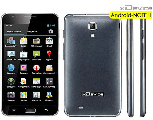 xDevice Android Note ll