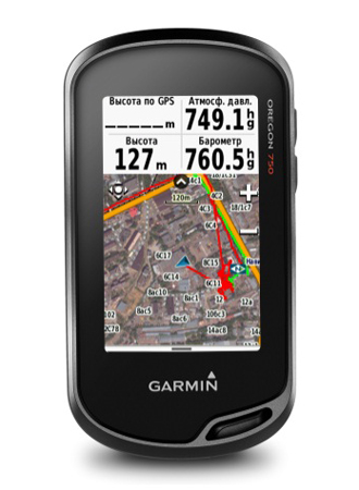 Garmin Oregon 750t Rus