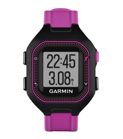 Спортивные часы Garmin Forerunner 25 Small Black/Purple