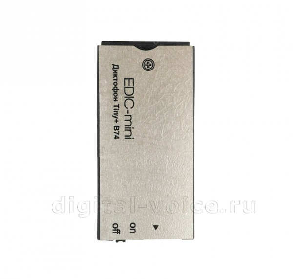 Мини-диктофон Edic-mini Tiny+ B74-150hq-Silver